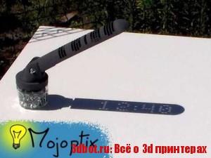 3d солнечные часы с цифрами