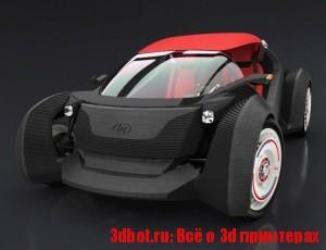3d автомобиль