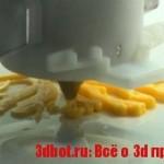 3D принтер на кухне