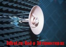 3D печать антенн для спутников в космосе