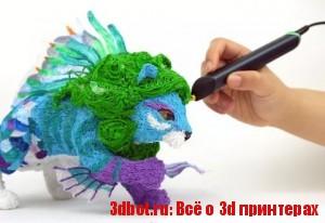 3D ручка 3Doodler Create