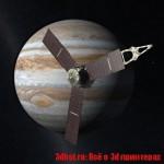 3D печатный спутник достиг Юпитера
