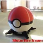 Как на 3D принтере сделать покемона