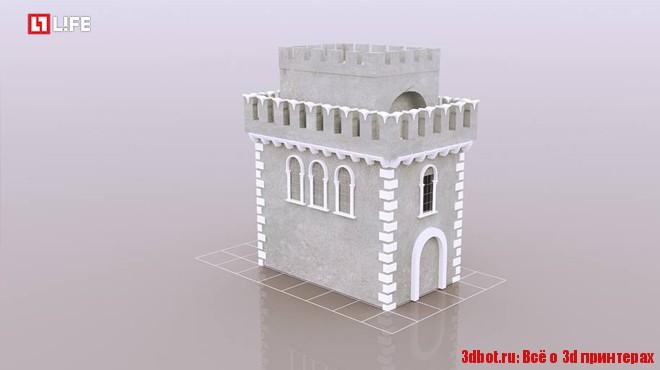 """Бетонный замок из """"Игры престолов"""" строят на 3D принтере"""