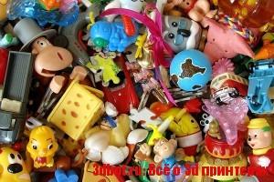 На 3D принтере переработают пластиковый мусор в игрушки