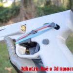 3D печатный пистолет с возможностью кастомизации под разные патроны