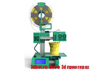 Гибридный 3D-принтер/граверы Super Helper
