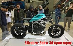 3D печатный мотоцикл Dagger