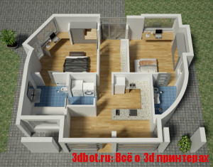 3D принтер Apis Cor