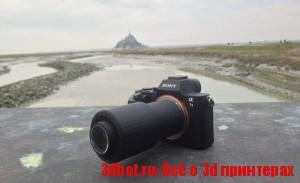 3D печатный объектив для фотоаппарата