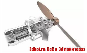 3D печатный газотурбинный двигатель