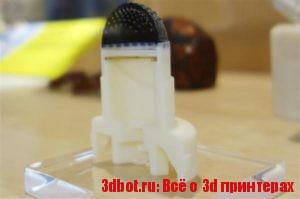 Биомиметический мозг в 3D печатной роборуке