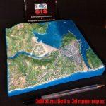 Интерактивная 3d модель плотины