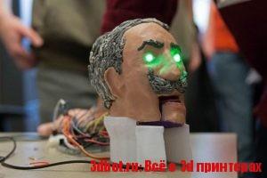 3D печать + ИИ = говорящая голова