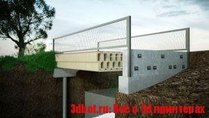 3D печатный мост