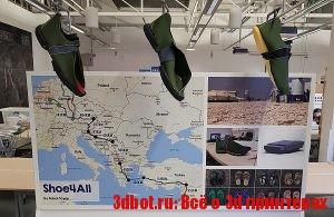 3D печатная обувь для беженцев